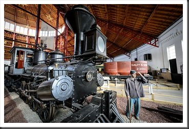 B&O Number 57 Memnon 0-8-0