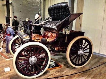 Muzeu masini epoca Fairbanks - Alaska
