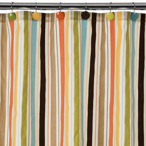 Homestripedshowercurtain Striped Shower Curtain
