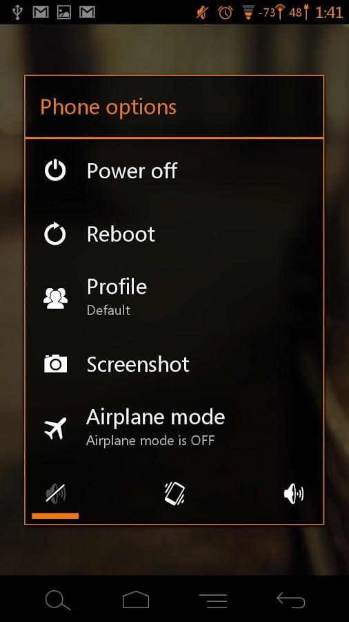 Tangerine CM11 AOKP Theme- screenshot