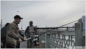 Рыбалка на Галатском мосту.