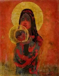 """Đức Mẹ Đồng Trinh và Chúa Hài Đồng của """"Nước Việt điêu linh""""..."""
