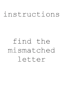 The Impossible Letter Game- screenshot thumbnail