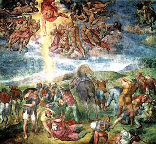The Conversion of Saul, fresco by Michelangelo, 1542–1545, Cappella Paolina, Vatican Palace, Vatican City