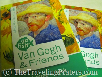 Go Fish for Van Gogh and Friends