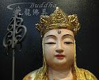 神像佛像的重新整理安金按金-慈悲地藏王菩薩整理-前
