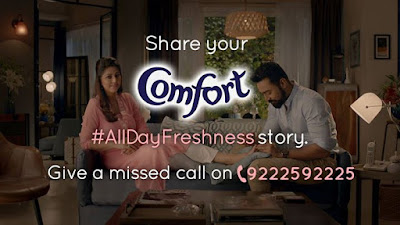 Try New Comfort share your AllDayFreshness Story get a chance to meet