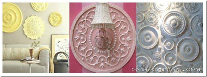 medallion collage