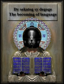 The Becoming of Language Cover