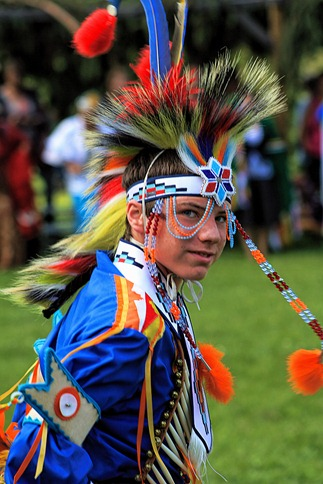 Lenape Powwow Fancy Dancer