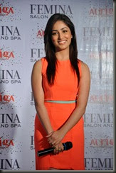Actress Yami Gautam New Pictures in Light Red Dress
