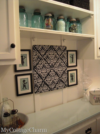 My cottage charm how to decorate a laundry room the big - Ideas to decorate your room ...