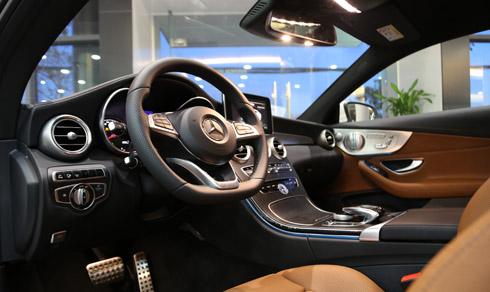 Xe Mercedes Benz C300 Coupe 2 cửa 09