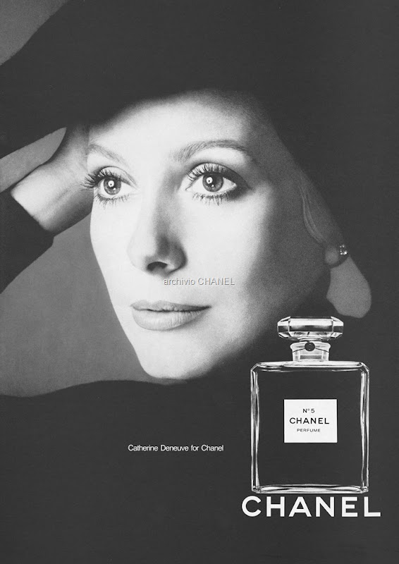 1972 Catherine Deneuve by Richard Avedon