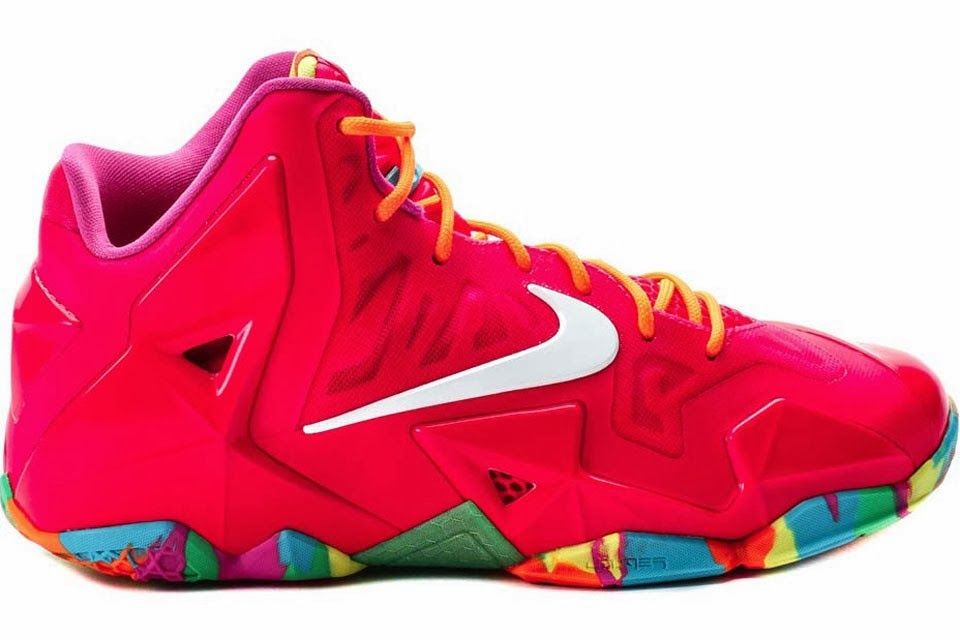 f242826a629a5 ... Coming Soon Nike LeBron XI GS 8220Fruity Pebbles8221 ...