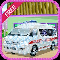 Ambulance Wash Girls Games 6.2.3
