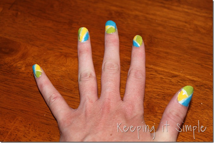 color blocking nails (19)
