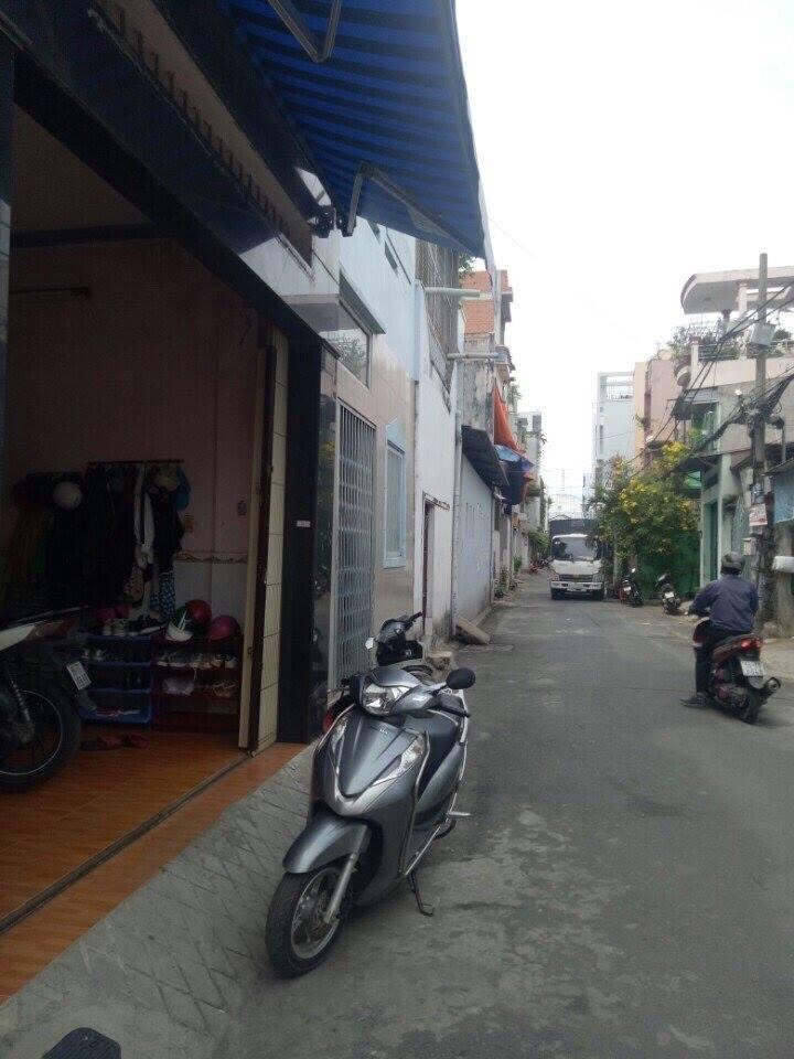 Bán nhà hẻm Quận Tân Phú 010