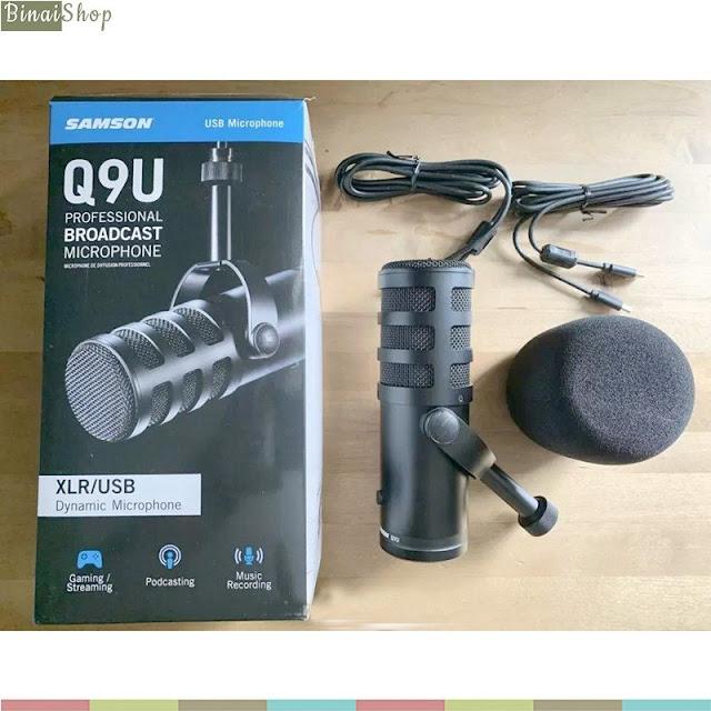Samson Q9U - Micro Dynamic, XLR/USB