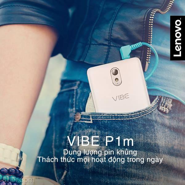 Khác với vẻ ngoài mỏng nhẹ, Lenovo VIBE P1m được trang bị