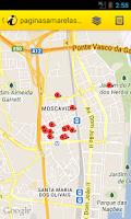 Screenshot of paginasamarelas.pt