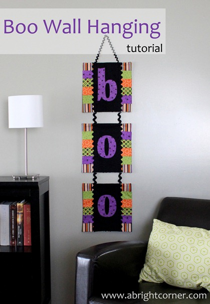 boo wall hanging 1