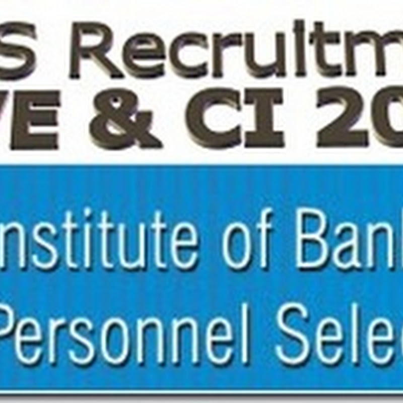 IBPS Recruitment 2013 for Clerk and PO