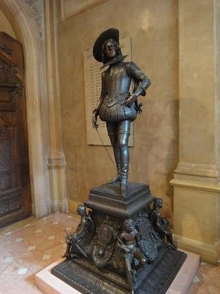 Louis XIII enfant par François Rude au Musée des Beaux-Arts à Dijon
