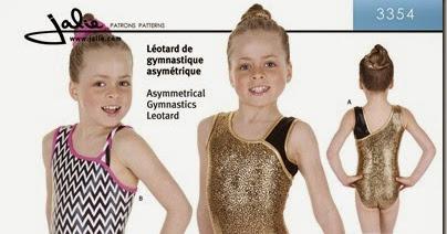 f54d5bd68 Two On Two Off  Jalie 3354 - Gymnastics Leotard