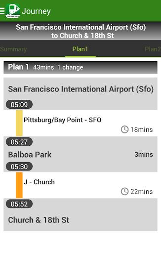 NAVITIME Transit - 美國舊金山|玩交通運輸App免費|玩APPs