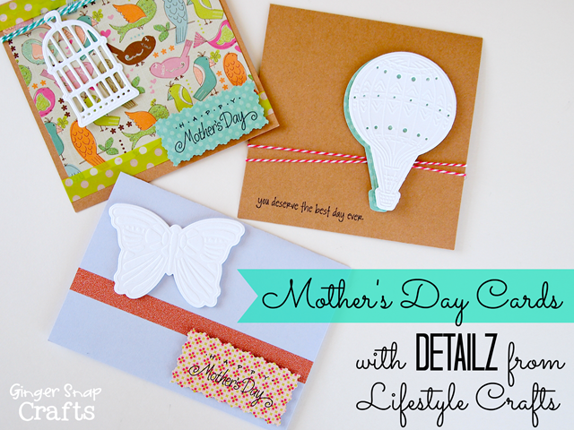 Mother's Day Cards with #LifestyleCrafts