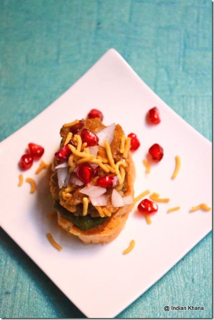 Homemade easy dabeli chaat recipe