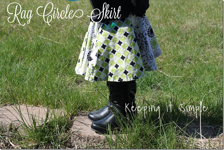 rag circle skirt