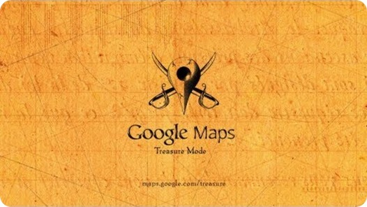 google treasure maps
