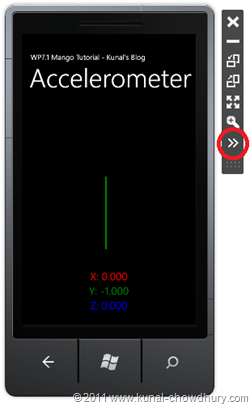 WP7.1 Demo - Expanding Accelerometer Window from Phone Emulator[7]