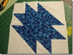 Blue and White block for Patch 2011