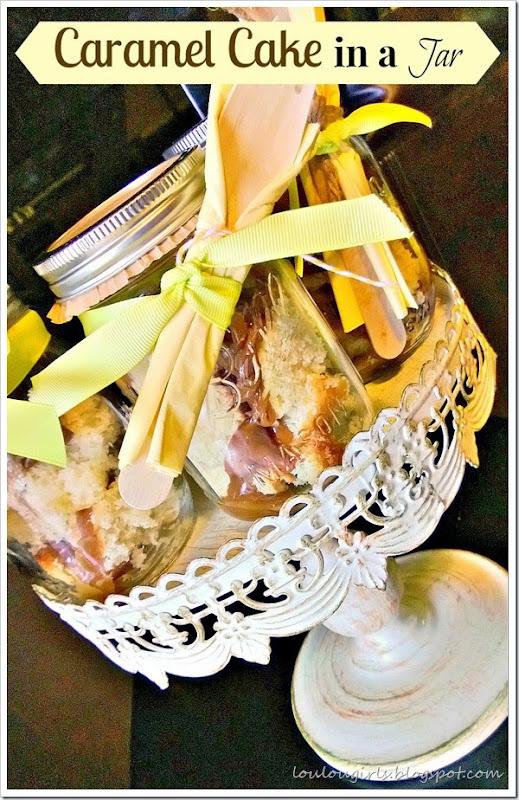 caramel cake in the jar 2