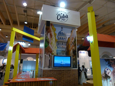 Targ turism Portugalia: stand Cuba