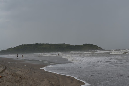 la Mare in India: Morjim beach Goa