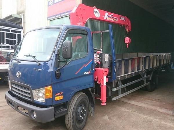Xe Đô Thành Hyundai HD120sl nhập khẩu gắn cẩu