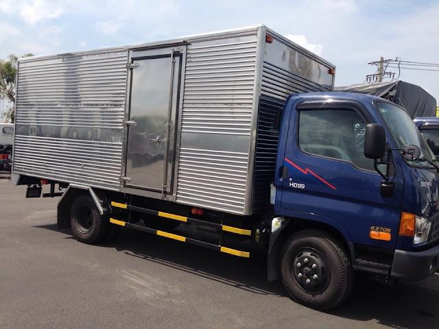 xe tải 6.5 tấn Hyundai HD99 thùng kín