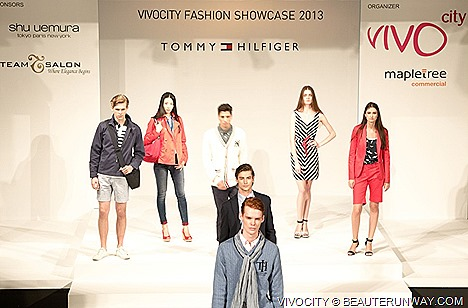 Tommy Hilfiger Spring Summer 2013 Fashion Show Camper Shoes Aimer Swimwear, Desigual, TANGS Department Store Tally Weijl VivoCity Fashion Festival  Taiwan Tourism Bureau (TTB), Qiito Travel, TransAsia Airways air ticket .