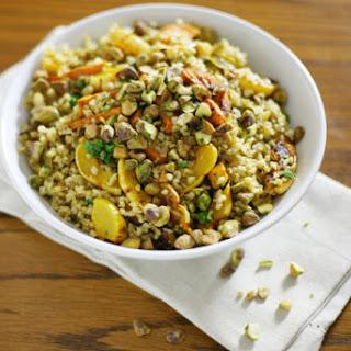 Roasted Delicata Squash and Freekeh Salad