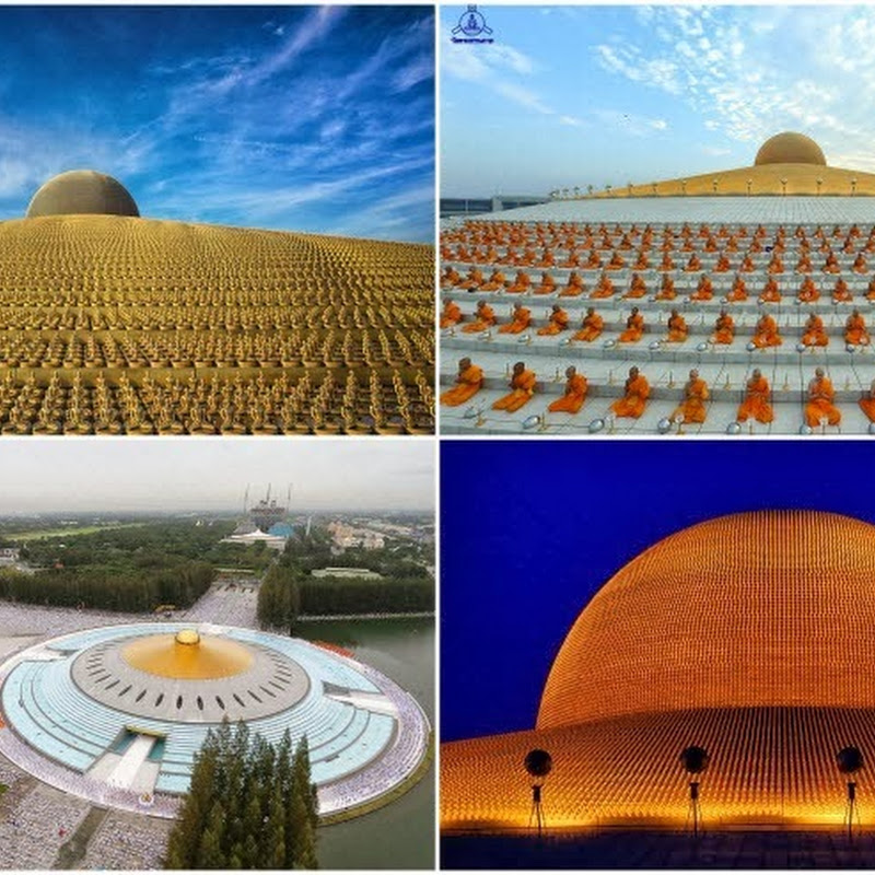 The Magnificent Buddhist Temple Of Wat Phra Dhammakaya