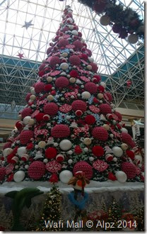 Christmas tree -wafi Mall,dubai