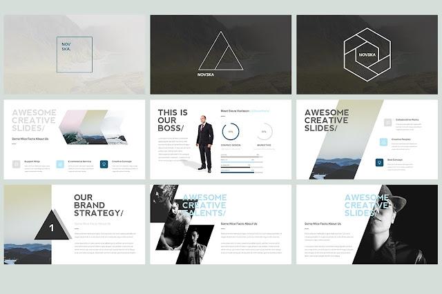 Novska Modern Powerpoint Template It Love Design