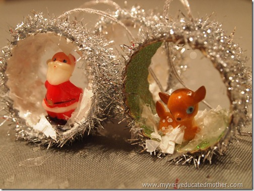 #NUO2012 Retro Figurines in Christmas Ornaments