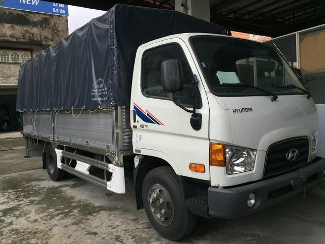 Hyundai 75s thùng bạt