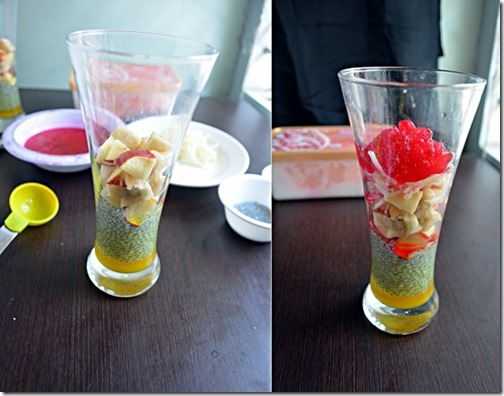 Falooda arrangement