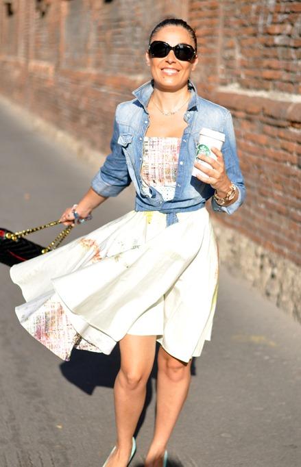 outfit, vogue italia, audrey hepburg, chanel bag, fashion blog